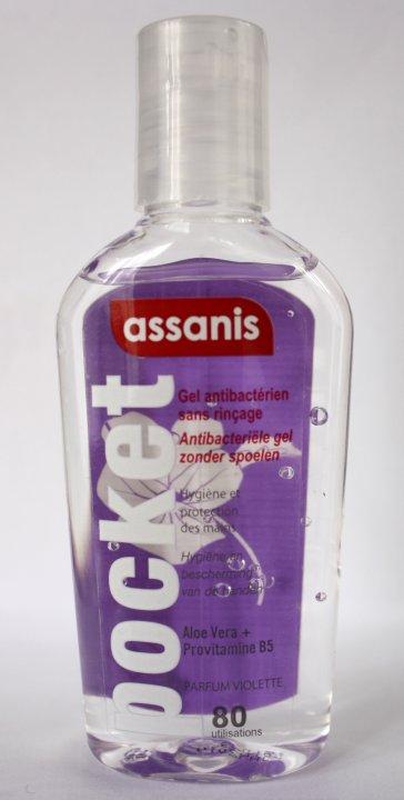 ASSANIS Handgel antibakteriell mit Duft Veilchen