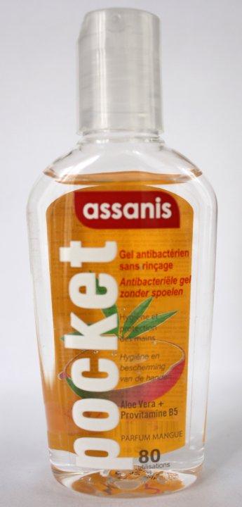 ASSANIS Handgel antibakteriell mit Duft Mango