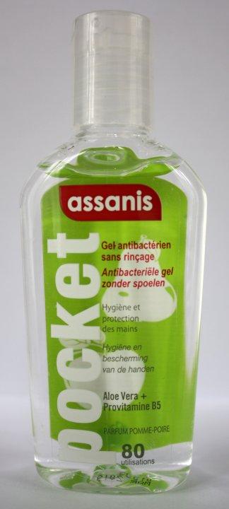 ASSANIS Handgel antibakteriell mit Duft Apfel-Birne